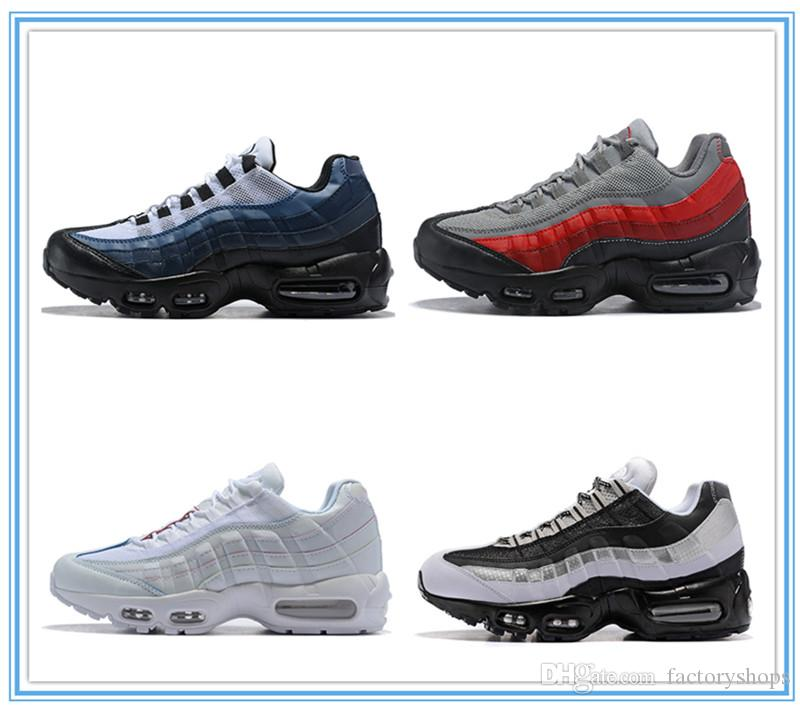 9c98804a4e7 2018 New 95 OG Fashion Running Shoes Men Sneakers Boots Athletics 95s For  Women Walking Sports Shoes Classic White Black Red Size 36 46 Running Shoes  For ...