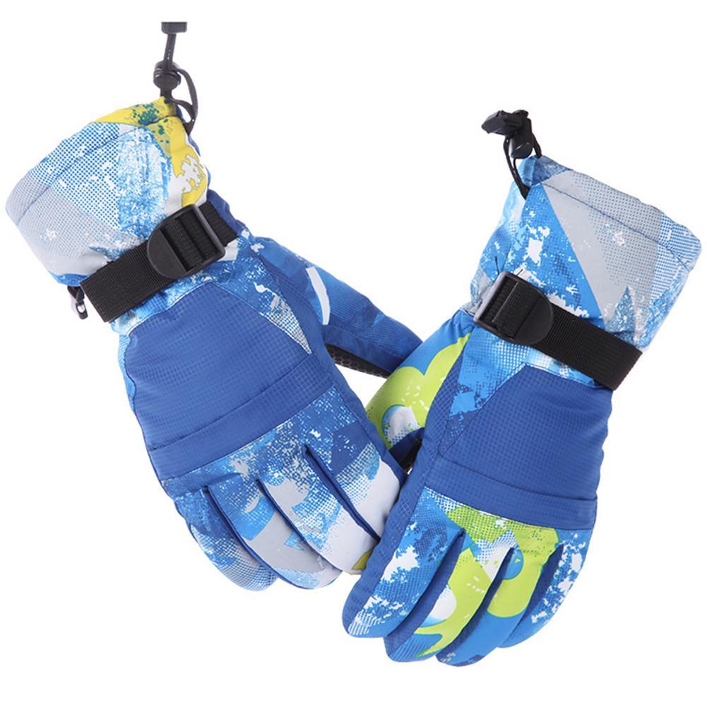 Beautiful Winter Mittens For Baby Waterproof Mittens Thickening Warm Ski Gloves Boys Girls Children Kids Snowboard Gloves M&s Discounts Sale Boys' Baby Clothing