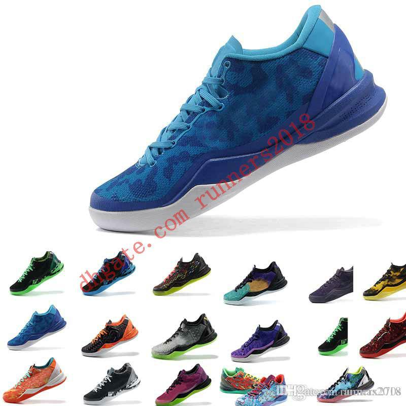 buy popular da30a 6af4c 2018 Original Best For ZOOM KOBE VIII 8 SYSTEM PREMIUM Shoes What The Kobe  8 Shoes For Men Factory Price 7 12 Casual Shoe Cheap Shoes For Men Purple  Shoes ...