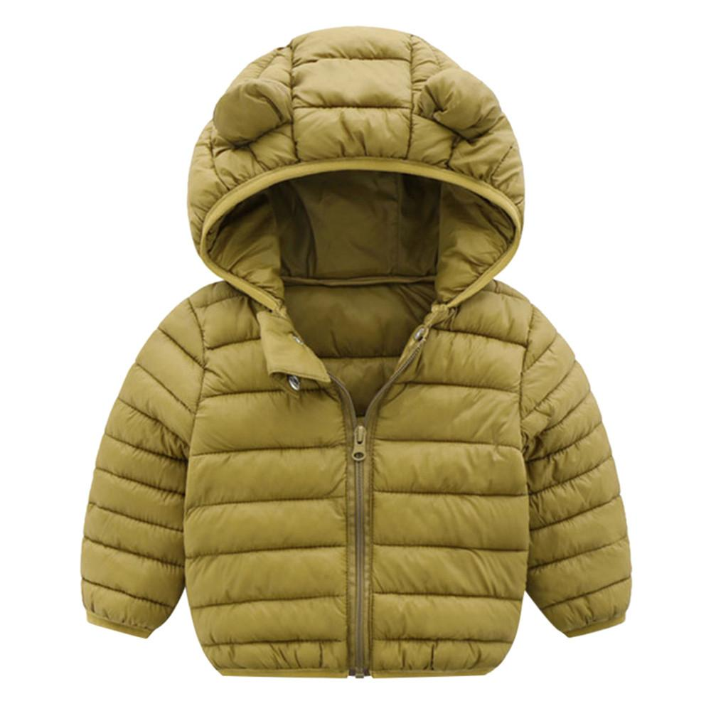 d55c3ac4f Children Outerwear Coat Winter Baby Boys Girls Jackets Coat Infant ...