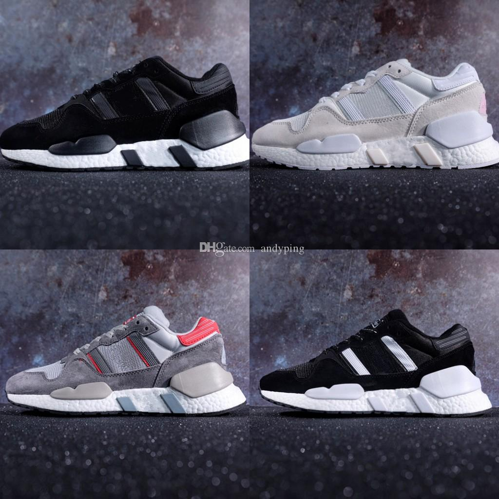 size 40 2b9d3 c2199 Originals 2018 Arrival Ultra Boost EQT Support Future Boost 91/18 White  black Man women sport jogging shoe Sneakers RunnING ShOes Size 36-45