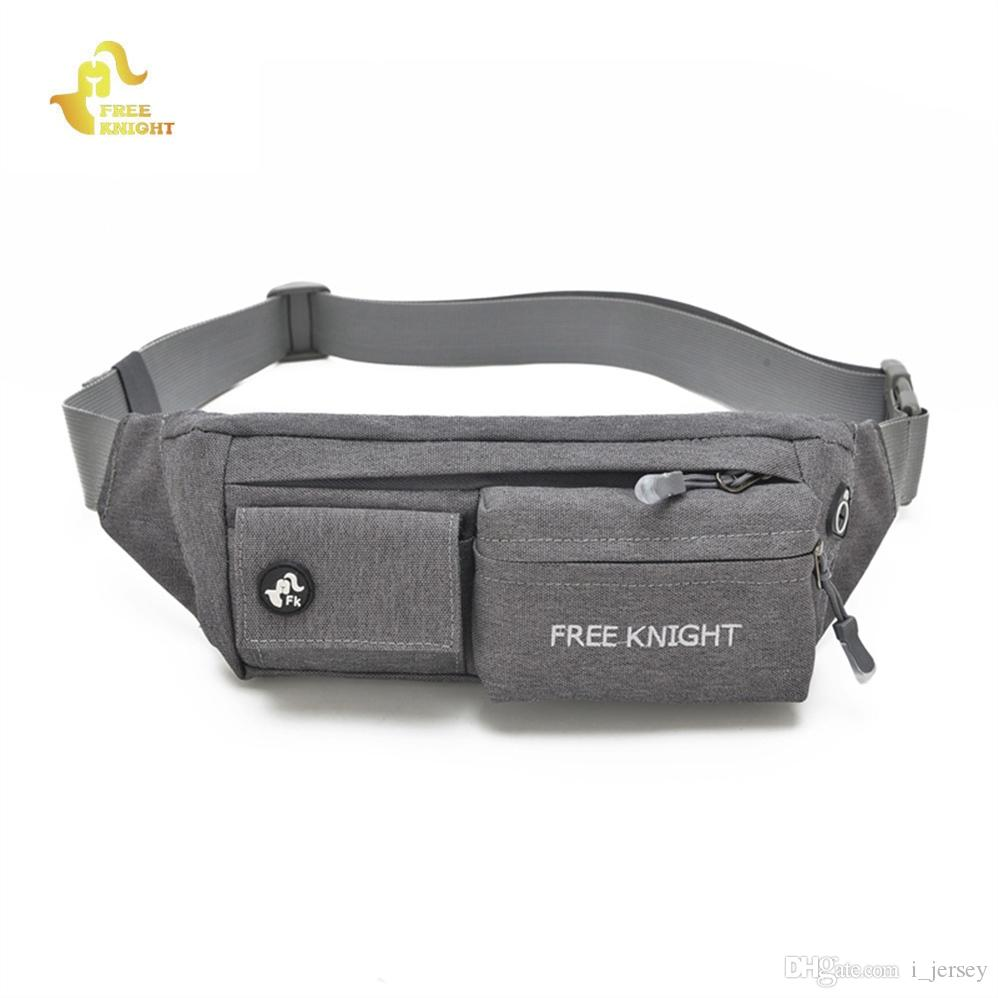 375ffebffca6 Free Knight Running Waist Bag Unisex Waterproof Cycling Belt Chest Pouch  Sports Fitness Hiking Camping Fanny Pack Bum Phone Bag #281463