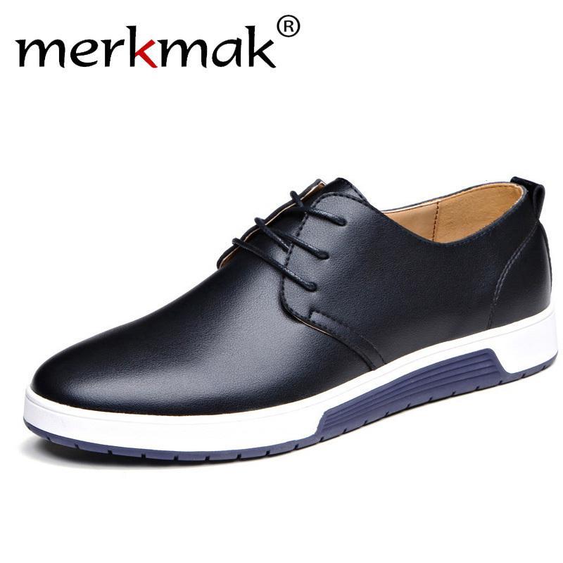 a1d466d74a05a1 Acheter De Luxe Marque Hommes Chaussures En Cuir Décontractée À La Mode  Noir Bleu Brun Chaussures Pour Hommes Drop Shipping De $24.16 Du Jerry06    DHgate.