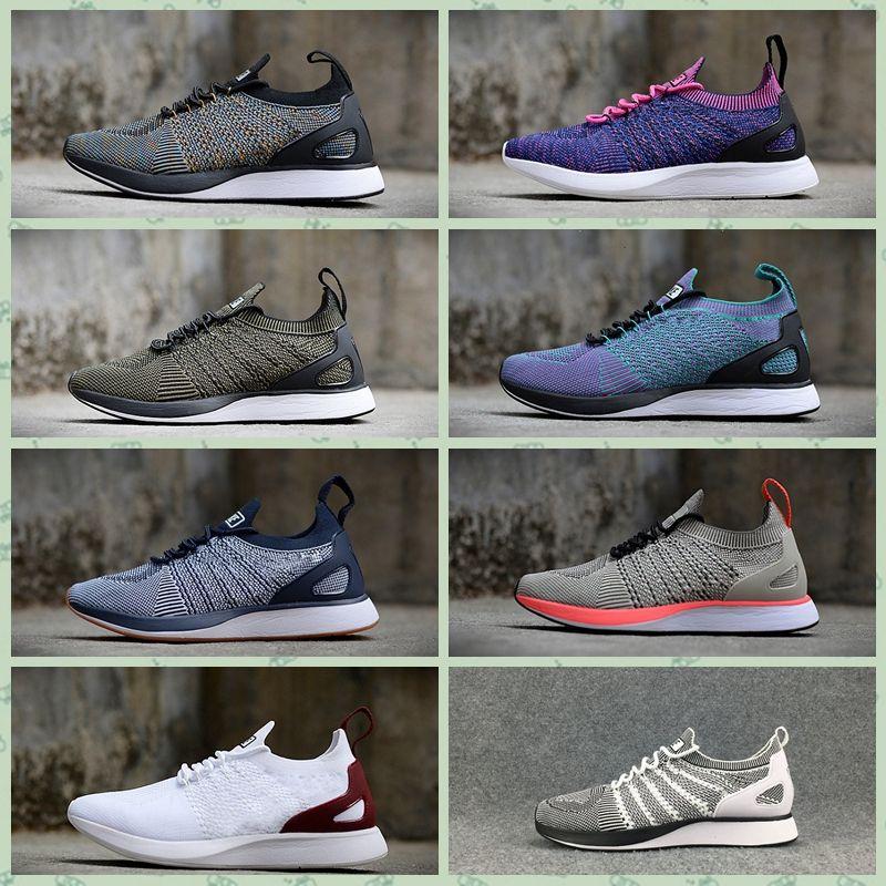 Nike Air Max FIykit Original Zoom caliente barato Hombres Mujeres Deportes al aire libre zapatos Mariah Racer DMX Oficial Diseñador de lujo corriendo