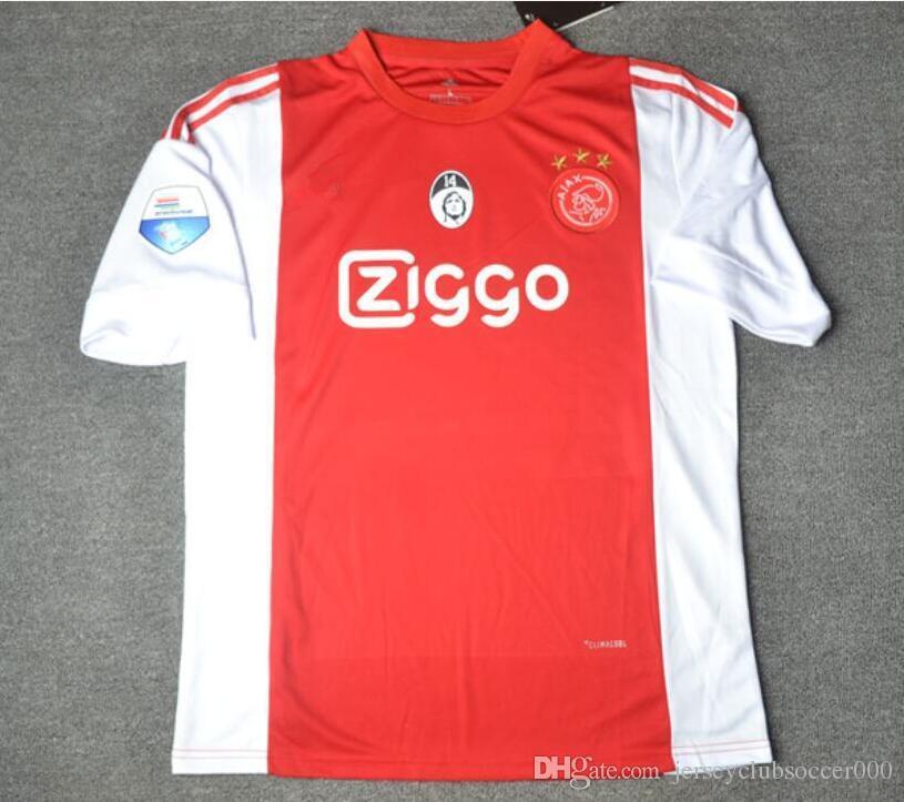 698ded1d4 Acquista 16 17 Maglia Cruyff Ajax Home Soccer Maglie 2016 2017 Edizione  Commemorativa Retro Jersey Avvantaggiere Camicie Da Calcio Camiseta De  Futbol A ...