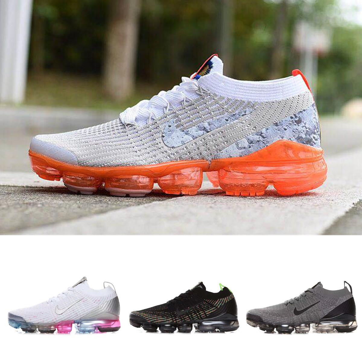 super popular 73988 e8347 2019 Airs Newest Vapors Beture All White/Black Rainbow Maxes Men Running  Shoes Off Sport Trainer Mens TN 97 270 Sneakers