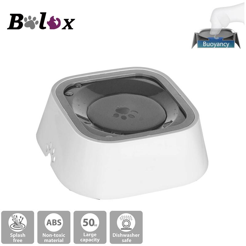 Vehicle Carried Floating Buoyancy Pet Cat Water Bowl Feeder Dog Drinking  Bottle Q190523