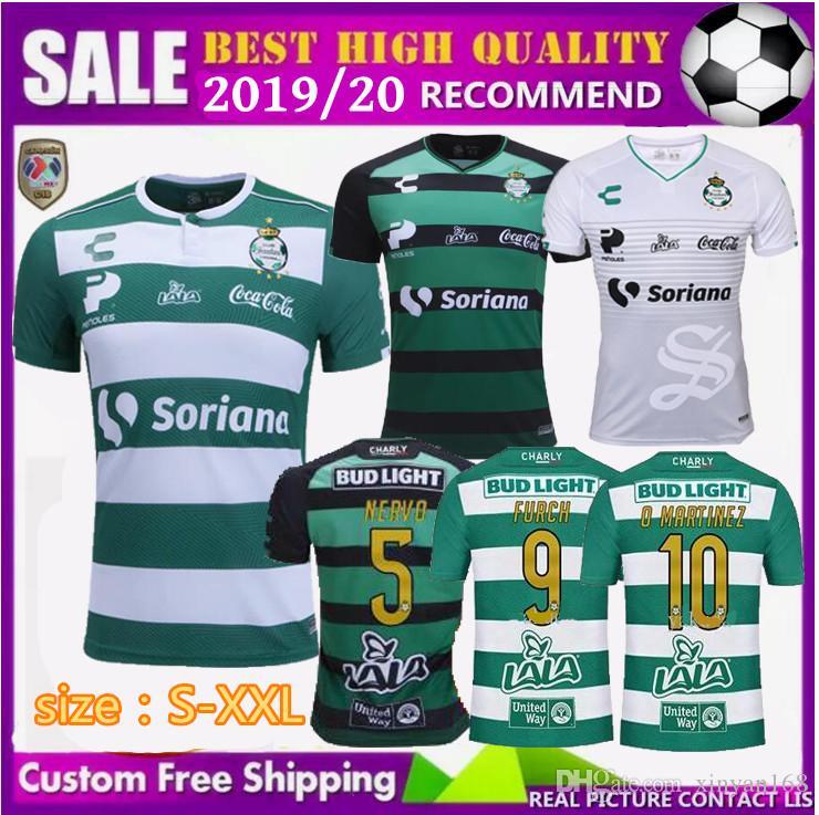 8b3ab9af8 2019 Top Thai Quality Mexico Club 2018 2019 New Santos Laguna Soccer Jersey  18 19 Martinez Dejanini Fulke Home Away Football Shirts Size S XXL From ...