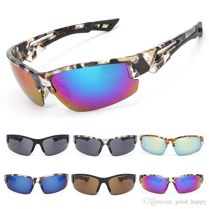 2656d831b Camouflage Outdoor Sport Cycling Sunglasses For Men Women Fashion ...