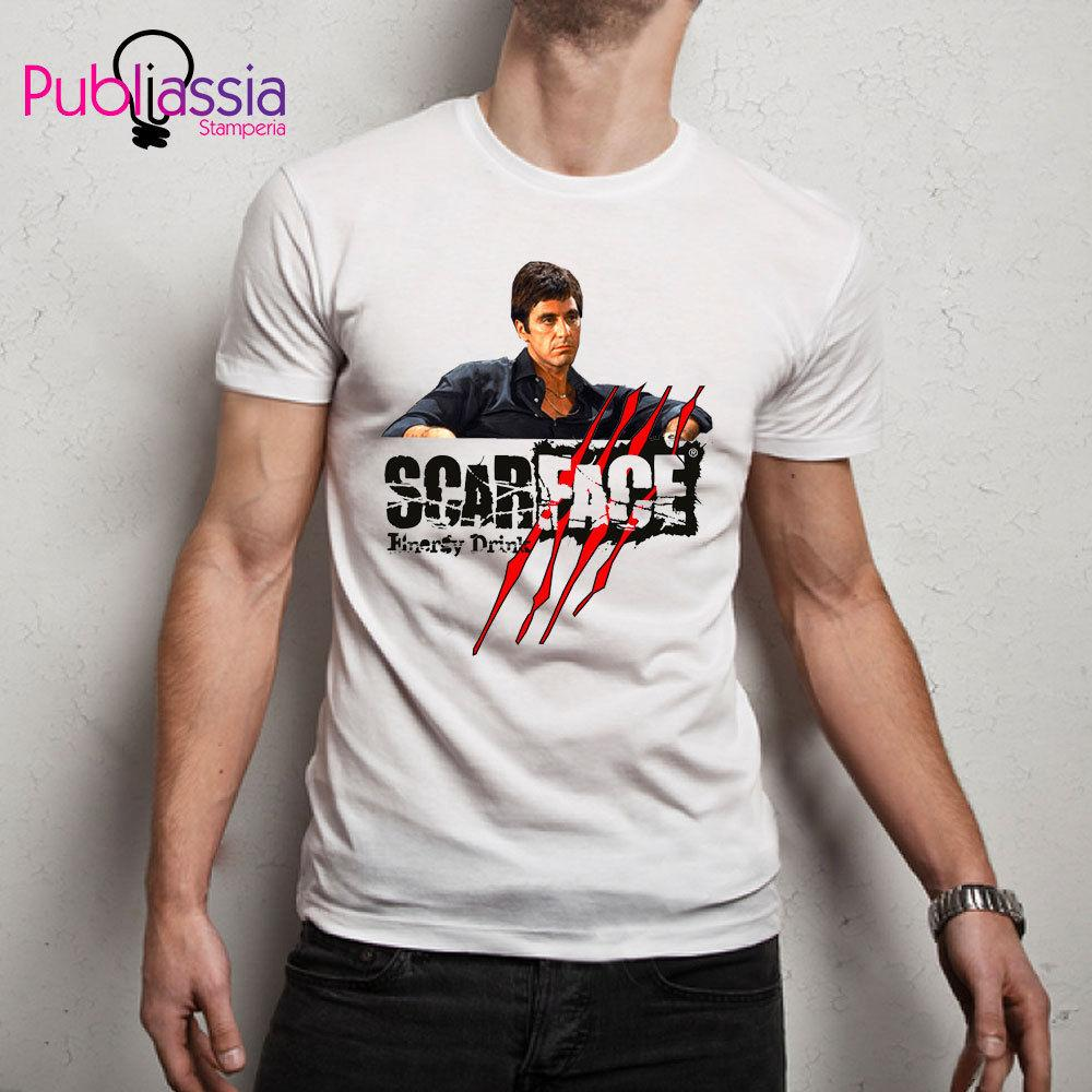 Al Pacino Tshirt Col Rond Homme T-shirt Coton Blanc