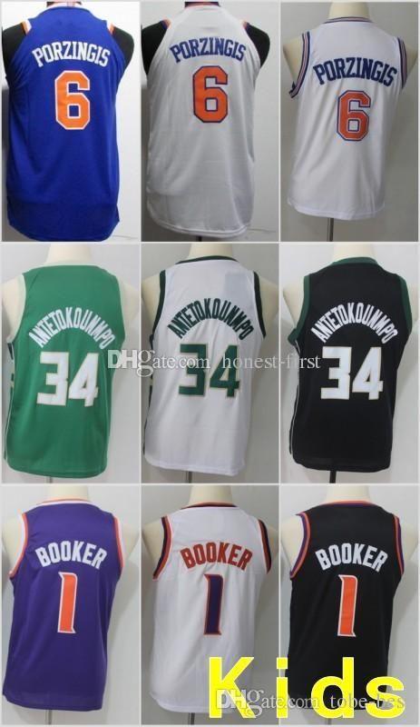 hot sale online e7fa7 e40dc shop kids devin booker jersey e41f8 db1de
