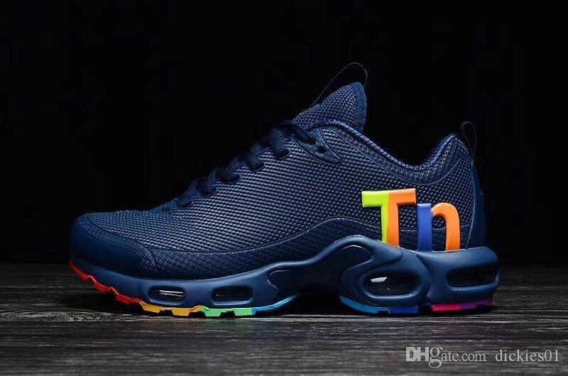 3a6c735674 2019 Mercurial Tn Plus Men Running Shoes Zapatillas Hombre 270 Mens  Designer Chaussure Homme 720s Sport Trainers Tn Size 40-46 Wholesale Sports  Outdoor ...