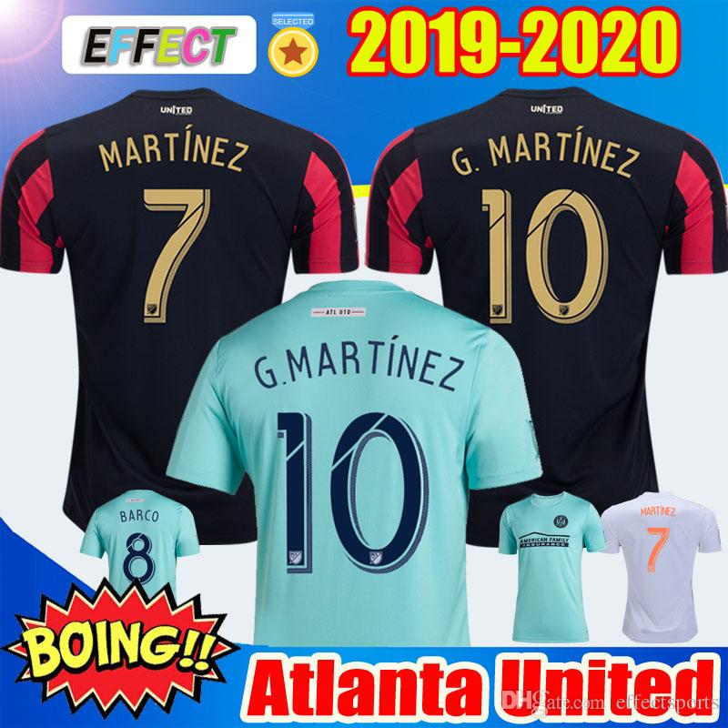 info for 1195f b150a 2019 Atlanta United Parley soccer jerseys 2020 BARCO #8 MARTíNEZ atlanta  united MLS parley blue spirit football jersey shirt For the Oceans