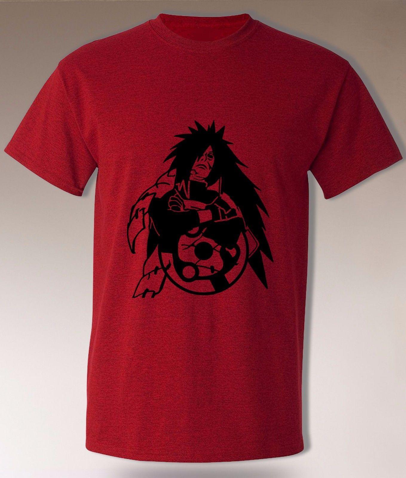 8b9b1366 Madara Uchiha T Sharingan Akatsuki Naruto Anime Ninja Cosplay Tee Top Adult  MensFunny Unisex Casual Crazy T Shirt Design Comedy T Shirt From  Tshirtkidd, ...