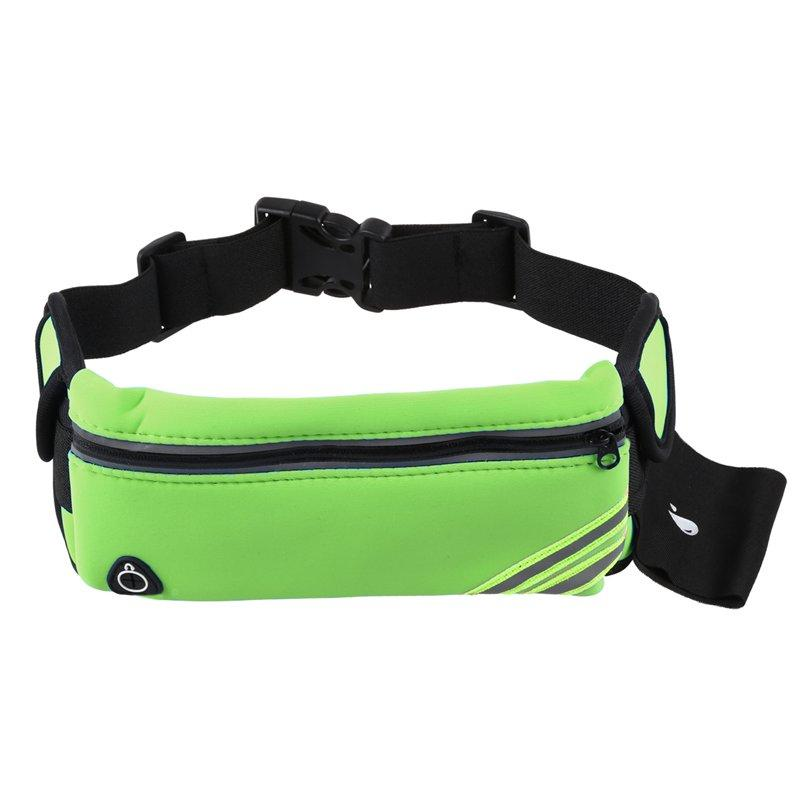 68c97127c904 Running Belt Waist Pack Pouch Reflective Water Resistant Cell Phone Holder  Bag for Workout Sports Walking Fitness Exercise