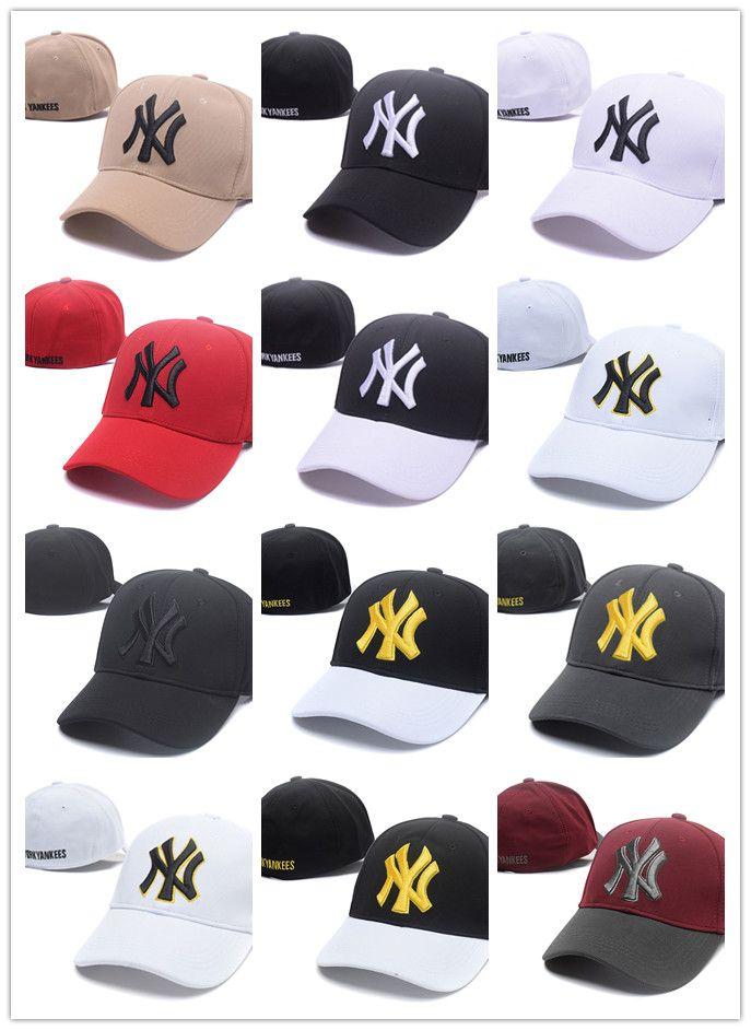 f920b79a4cefac 2019 2019 Fashion NY Snapback Baseball Caps Many Colors Peaked Cap New Bone  Adjustable Snapbacks Sport Hats For Men Free Drop Shipping From  Perfectfuture, ...