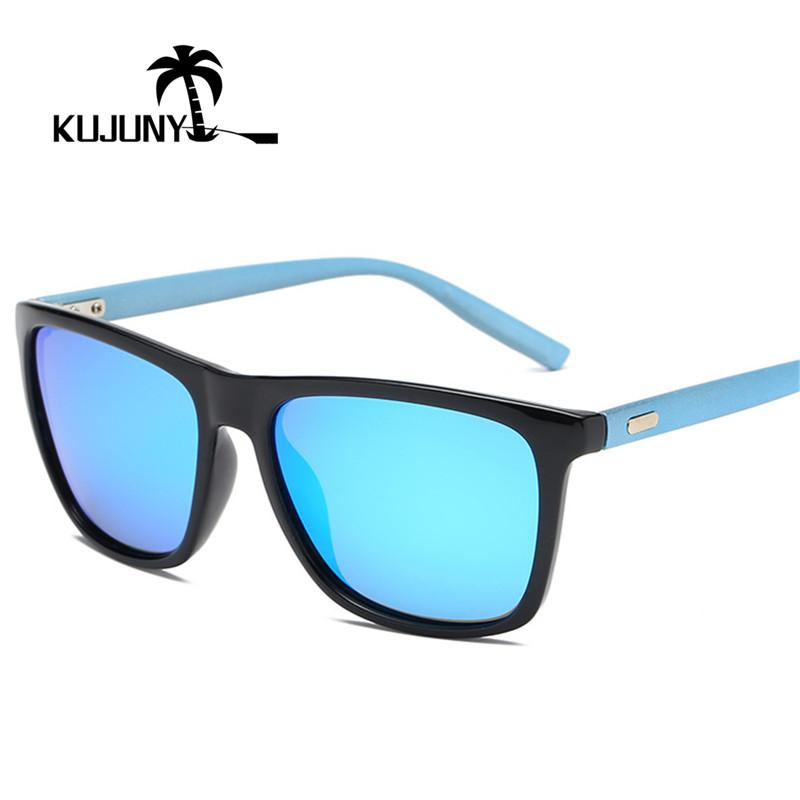 c23c71a8abc9 KUJUNY Polarized Sunglasses Men Outdoor Sports Eyewear Classic Retro  Polarizing Sun Glasses HD Mirror Driving Goggles Mirrored Sunglasses Heart  Sunglasses ...