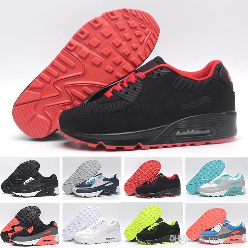 2018 Nike Air Max 90 Hombre Zapatillas Deportivos OKD 1qMkjRQN