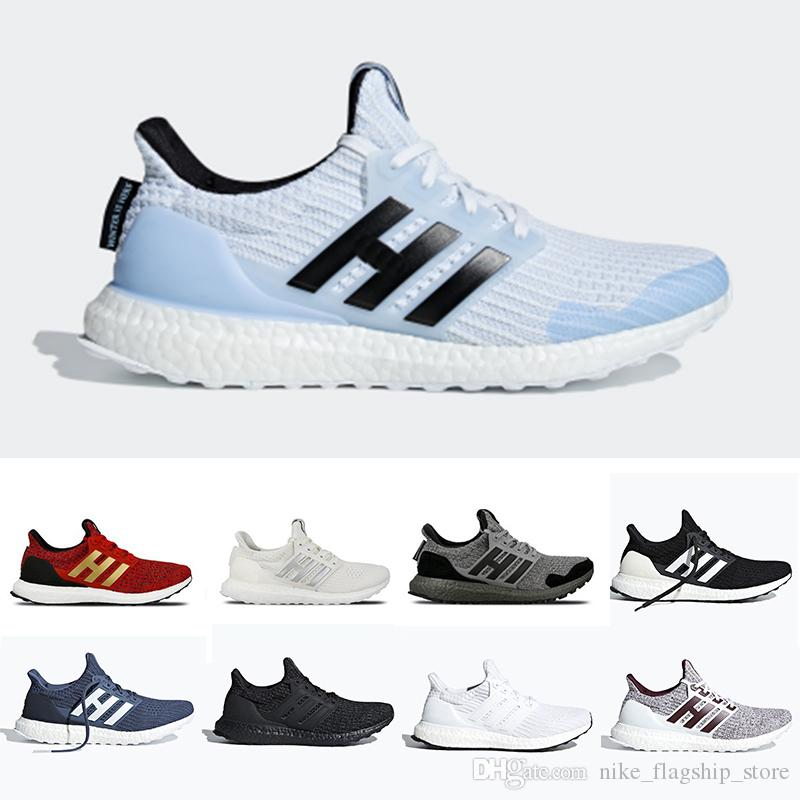 new arrivals 13253 ed55c 2019 CNY Ultra Boost 4.0 IV Matte Black Running Shoes Oreo Game Of Thrones  Men Women Primeknit Core White Sport Sneakers 36 45 Best Running Shoes For  Women ...