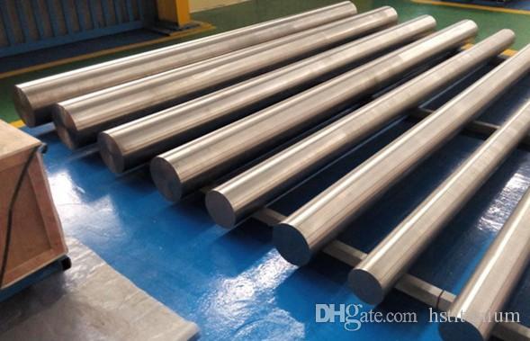 Made in Baoji titanium metal round bar price per kg Titanium Connecting  Round Rod hot sale