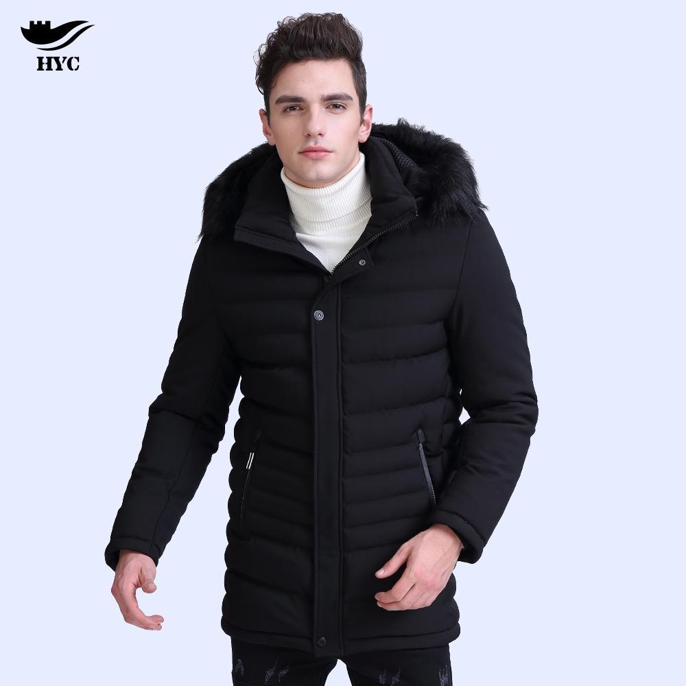 eb0f0721e61fd Satın Al HAI YU CHENG Erkek Kapşonlu Ceketler Erkek Kışlık Mont Uzun Siper  Erkekler Parka Kış Anorak Ceket Pamuk Kapitone Puffer Ceket 7868, ...