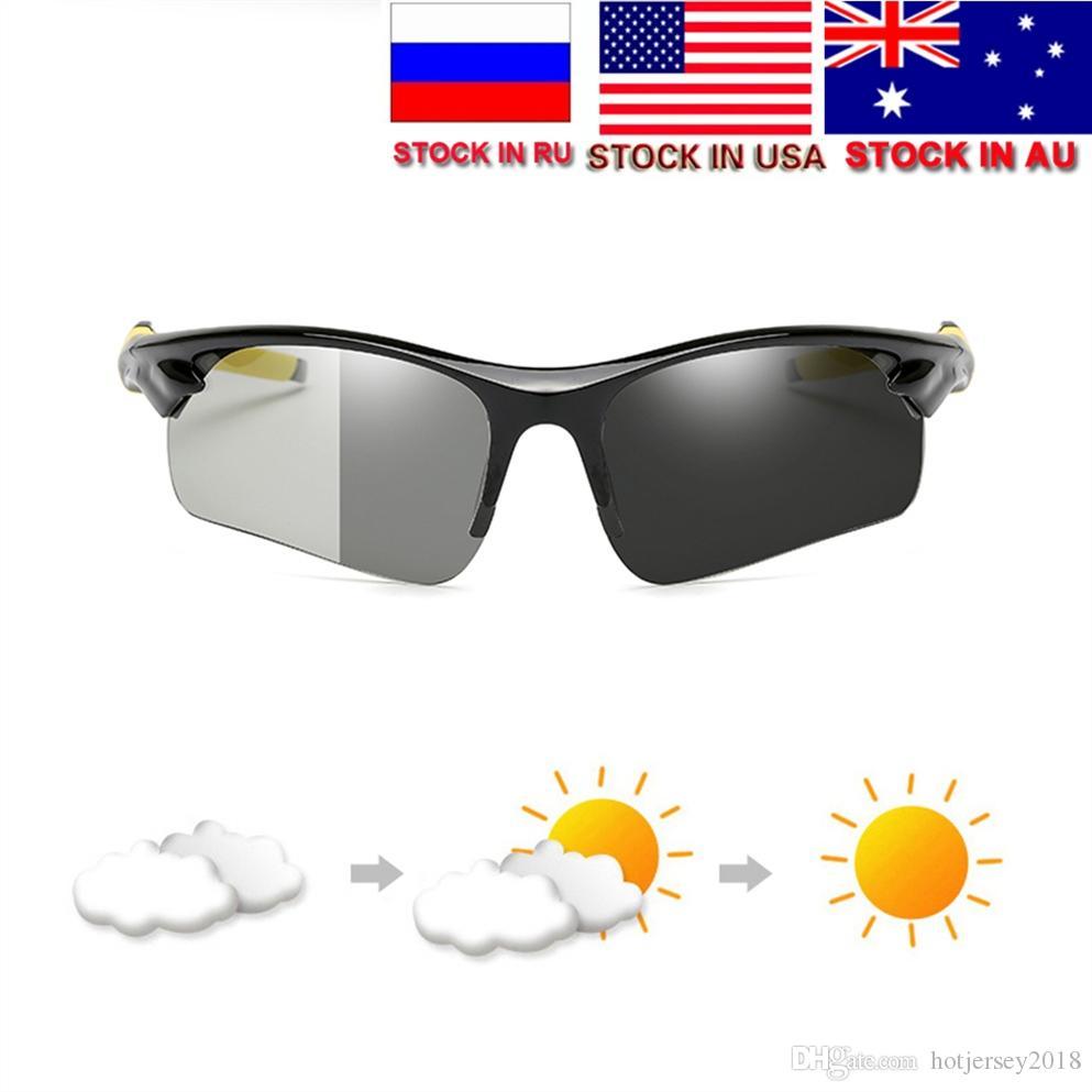 9cc6fec593 Photochromic Polarized Cycling Glasses Bike Eyewear Sports ...
