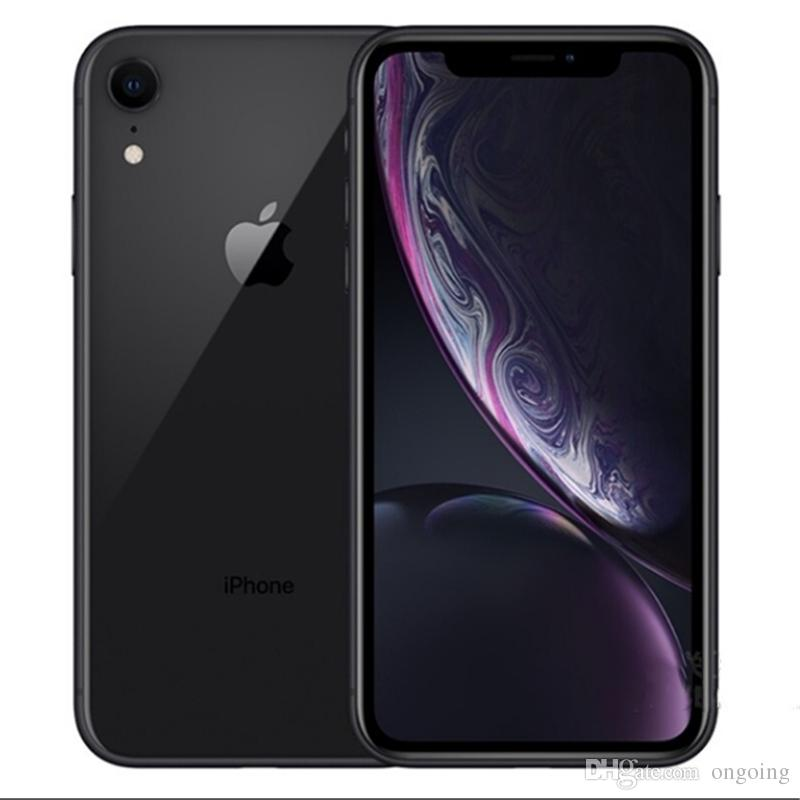 Original Apple iPhone XR 3GB RAM 64GB 128GB ROM 6.1inch iOS12 Hexa core 12.0MP Dual Back Camera Unlocked 4G LTE Refurbished Phone