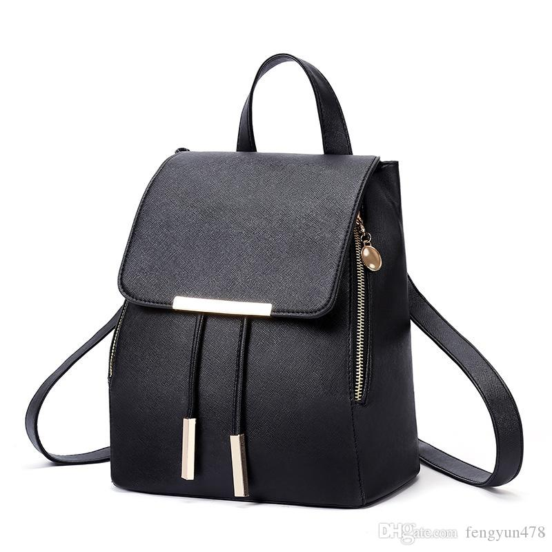 b8f844df333e Cheap Drawstring Leather Backpacks School Best Vintage Leather Backpacks  for Men