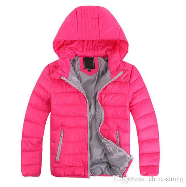 e63fac60b375 5 Colour!2019 New Children S Outerwear Boy And Girl Winter Warm ...