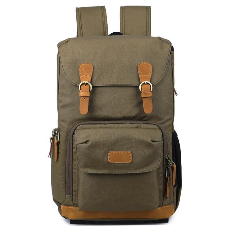 Quality Multi-functional Camera Video Bag Waterproof Dslr Camera Bags For Nikon Canon Camera Backpack For Photographer And To Have A Long Life. Camera/video Bags Accessories & Parts