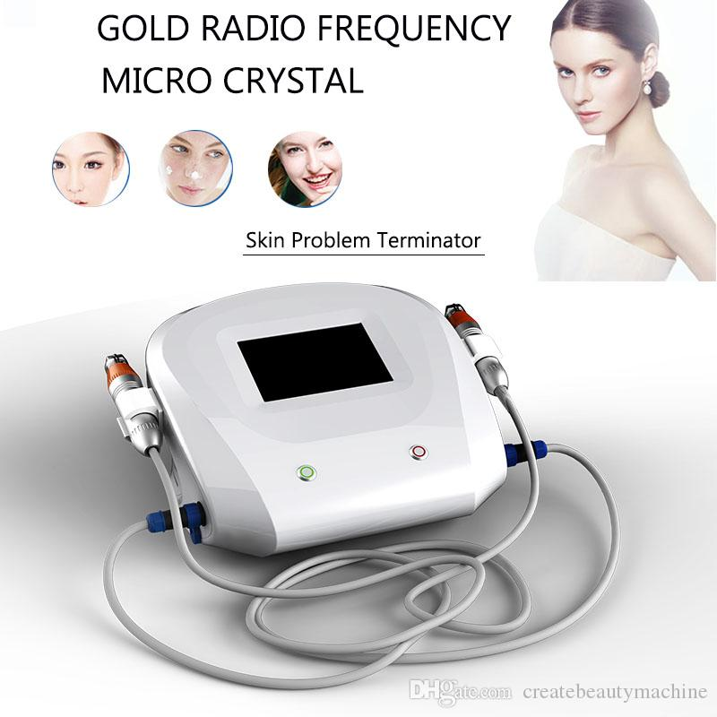 Microneedle acne dark scar treatment micro needling Anti Wrinkle Radio  Frequency Thermage Fractional RF face wrinkles treatment