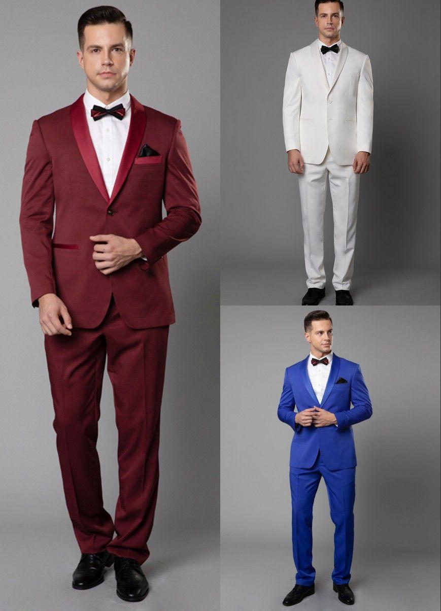 2967afa51 2019 Balck Peaked Lapel Groom Tuxedos Men Wedding Suits Formal Mens ...