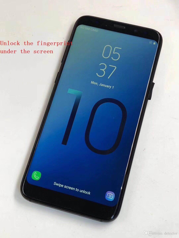 New 2019 Goophone s10 9Plus Android 8 0 1GB RAM 8GB ROM MTK6580 Octa Core  6 3 inch Shown 6GB RAM 64GB ROM Dual Camera WIFI GPS