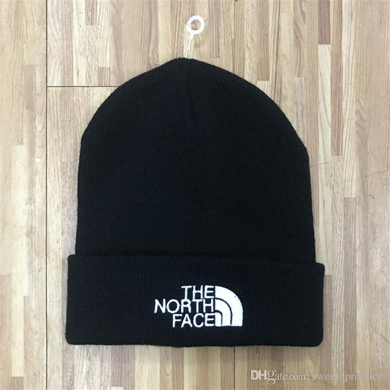 ab80b145343 Brand NF Winter Hats Teenager Boys Hip Hop Beanies The North Knit ...