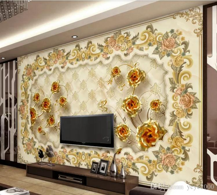 Marble texture tooling Photo Wallpapers For Wall 3 d Living Room Bedroom Shop Bar Cafe Walls Murals Roll Papel De Parede