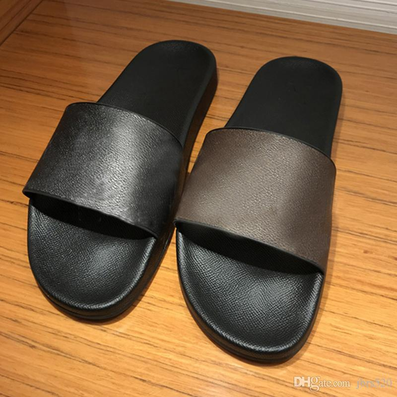 Designer Classic flops platform Womens Sandals Fashion Men Alphabet Cartoon slippers Bath Hotel Scuffs Beach Ladies slippers size 35-46