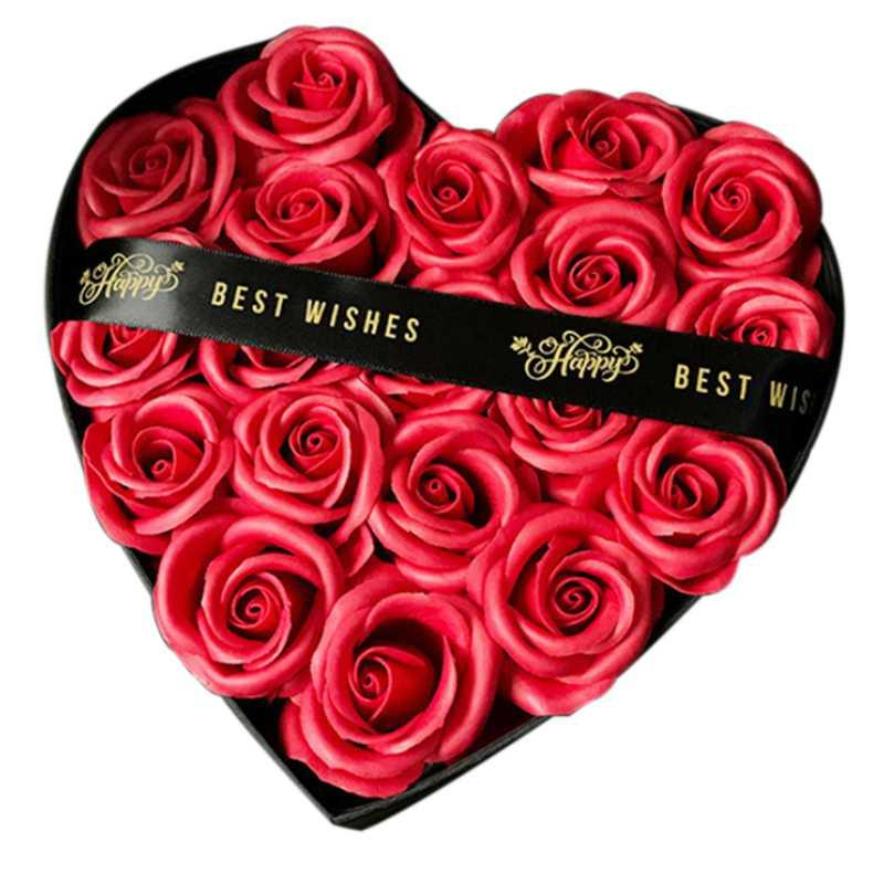 Acheter Jeyl Savon Rose Fleur Mariage Petite Amie Anniversaire