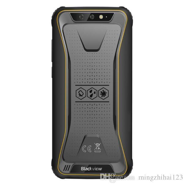 Blackview BV5500 IP68 Waterproof Mobile Phone MTK6580P 2GB 16GB 5 5 18:9  Screen 4400mAh Android 8 1 Dual SIM Rugged Smartphone