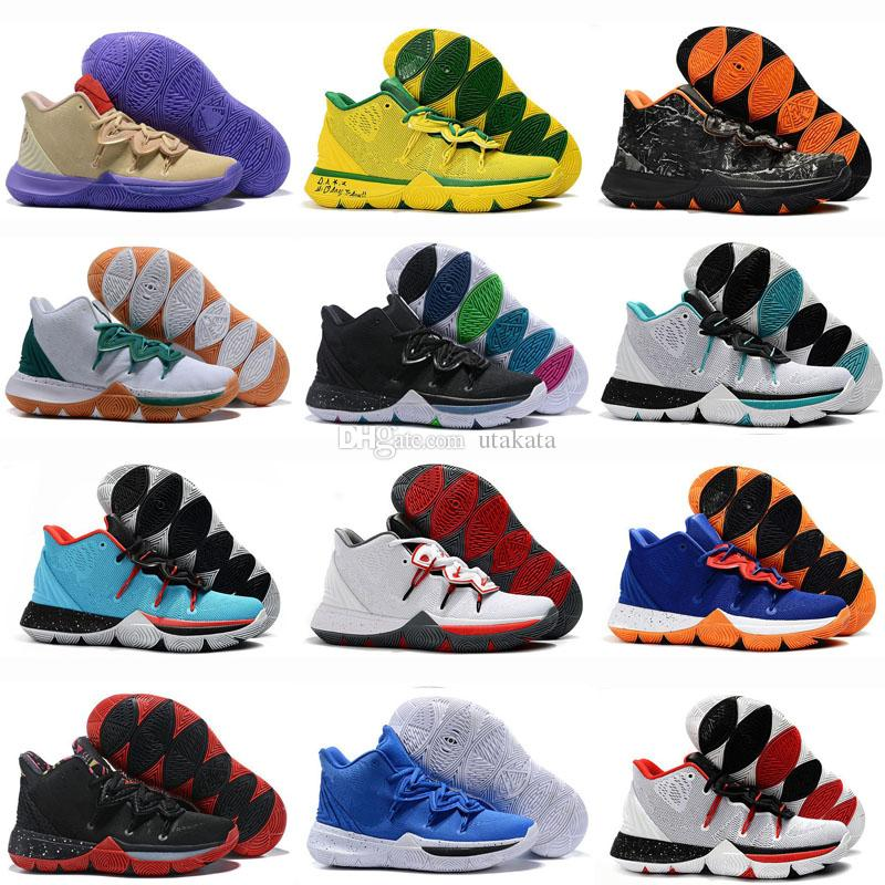 Hot Kyrie Taco Sports Basketball 5 Chaussures Shoes Mens Top Quality  Multicolo Sneakers Designer Mens Trainers 7 12 Shoes Sports Sports Shoes  For Women From ... b2508d90d