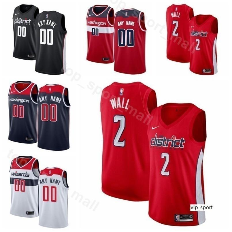 b1e54578a996 2019 Men Youth Women Print Basketball Wizards John Wall Jersey Bradley Beal  Dwight Howard Trevor Ariza Jeff Green Edition City Earned Shirts From  Vip sport