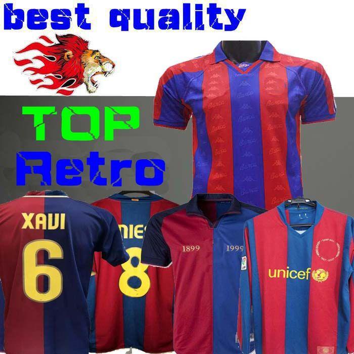 half off 7f235 f756f 07 08 retro jersey 96 1997 FIGO 1899 1999 XAVI RONALDINHO RONALDO 08 09  RIVALDO GUARDIOLA Iniesta Year Barcelona PIQUE XANI Henry