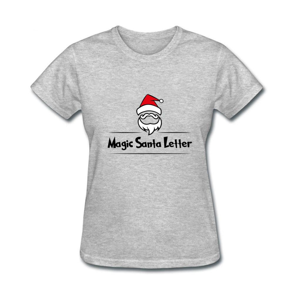 0a51c45c5bc7 Novelty Pink Color Magic Santa Letter Print Hip Hop Women T Shirt Casual  Cotton Hipster Tshirts For Girl Funny Top Tee Drop Ship Printed T Shirt  Funny T ...