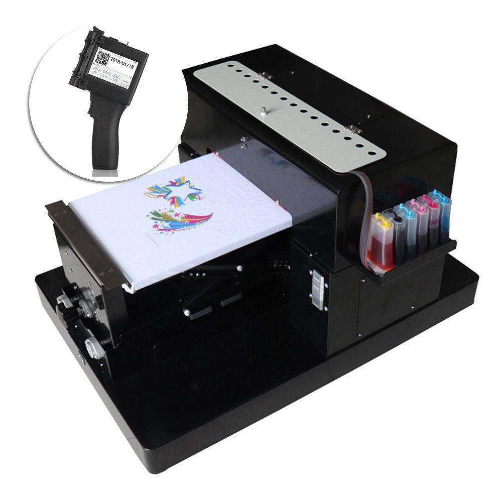 A3 Flatbed Printer T Shirt Printer For T Shirt Pvc Card Phone Case