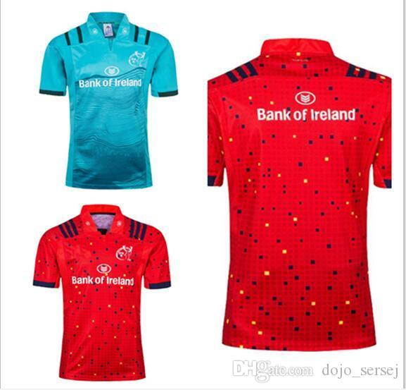 b6119b0935 Hot Sales 18 19 Munster Jersey Home And Away 2018 2019 Muenster City ...
