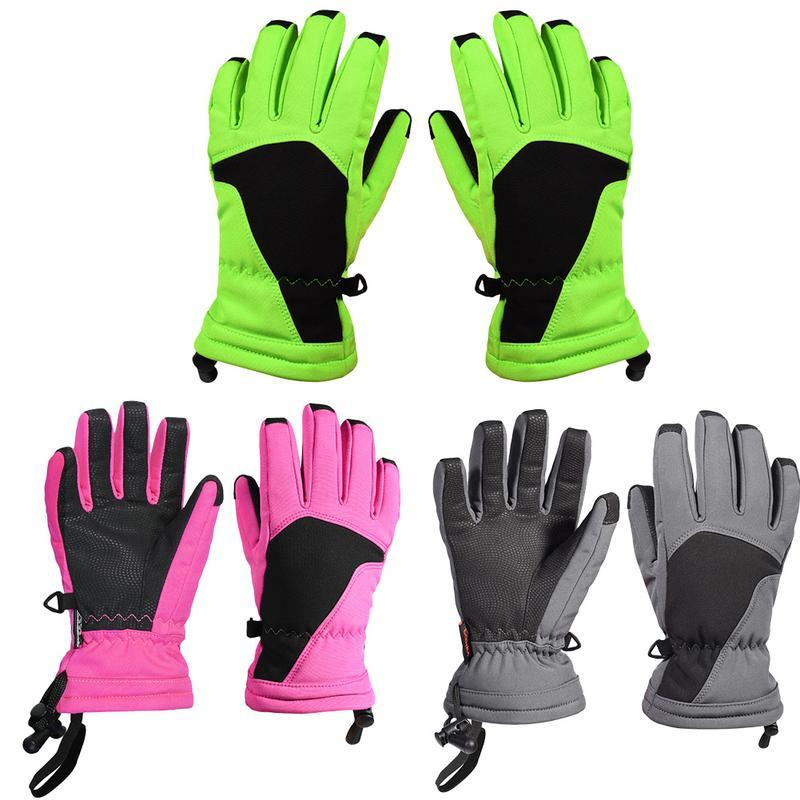 6149cd38855 Water Resistant Windproof Snow Ski Glove Warm Insulation Technology ...