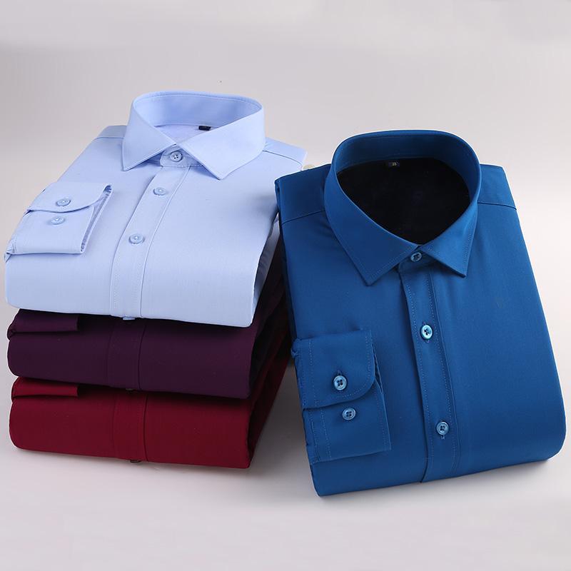 a29f7d83049 Compre Andrecarr Camisa De Hombre Camisa De Fibra De Bambú