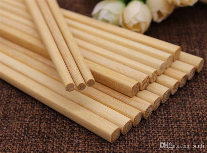 Hot Home Bar Japanese Natural Wooden Bamboo Chopsticks Health