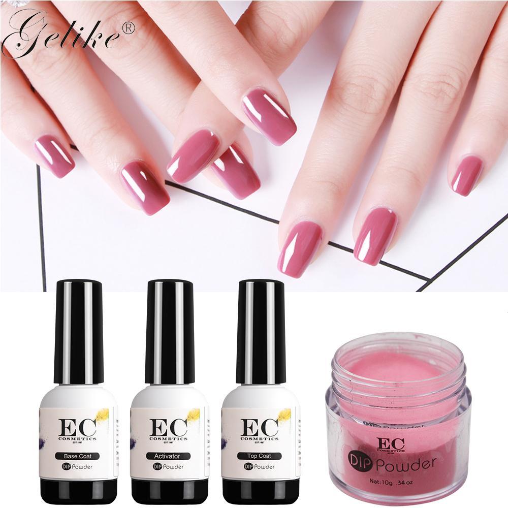 Gelike Dip Organic Nails Acrylic Powder No ,No Primer,No Uv Light ...