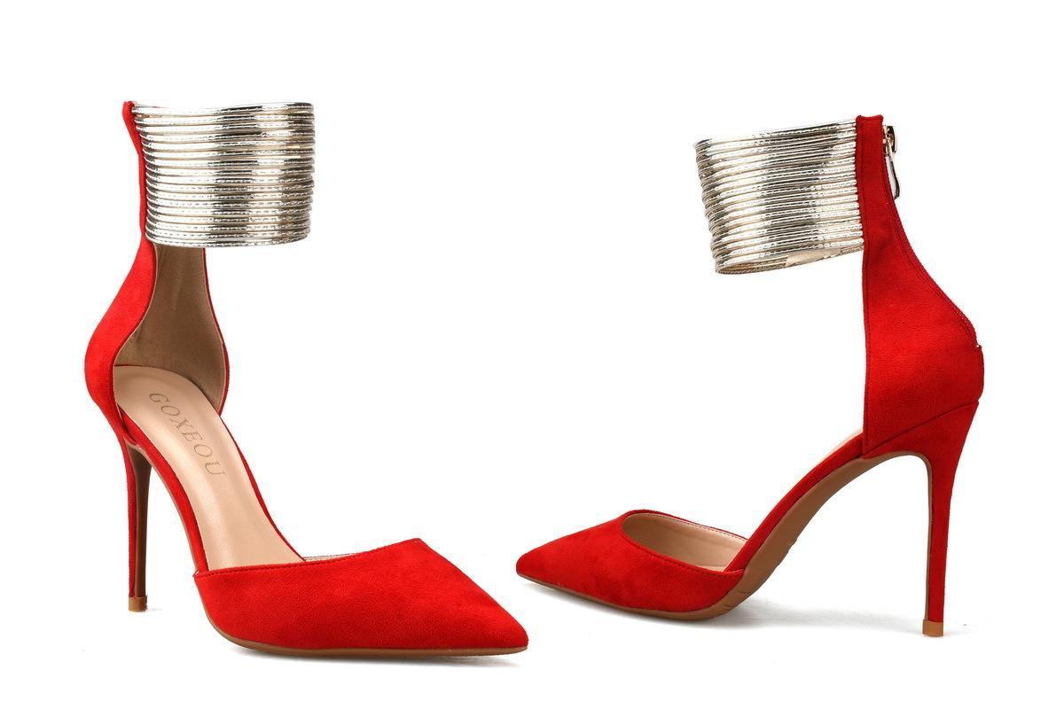 Kleid Spitze Zehe 10cm 8cm 42 Sexy Pumpen Hohl Größe 35 Schuhe Rote Pfennigabsatz Große Schwarz Markendesigner Party Dame Prom OTiuPXkZ