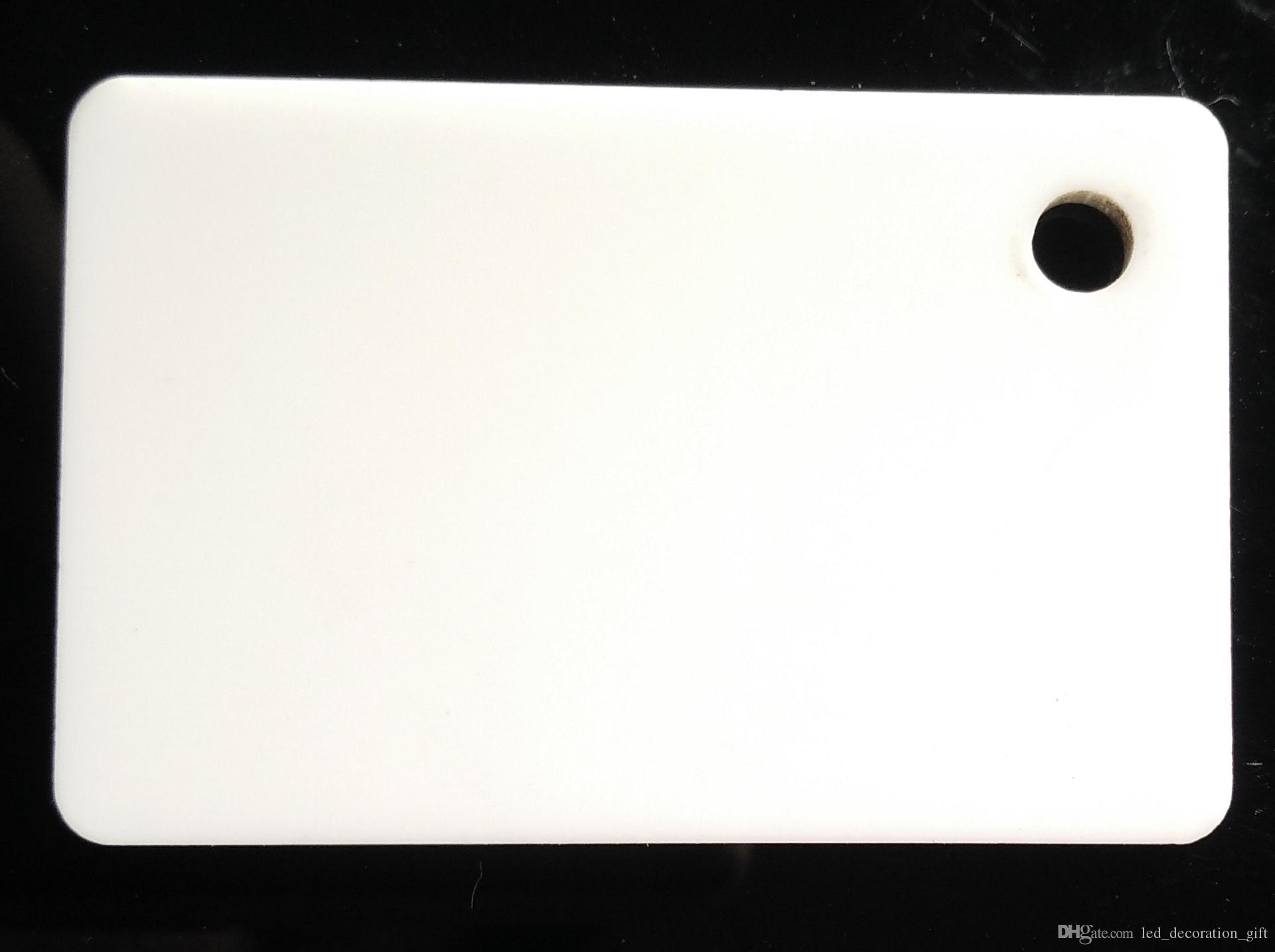 A3 brown Acrylic sheet Plexiglass white plastic PMMA Board size 297mmX420mm  and about 3mm thickness hot sale